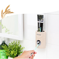 Automatic Toothpaste Dispenser Dust-proof Toothbrush Holder Wall Mount Stand Bathroom Accessories Set Toothpaste Squeezers Tooth preview-6