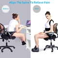 Posture Corrector for Men and Women Back Posture Brace Clavicle Support Stop Slouching and Hunching Adjustable Back Trainer preview-3