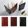 1Pc x Mini Business Notebook Mini Pocket Notebook Portable Journal Diary Book PU Leather Cover Note Pads New preview-1