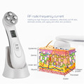 CkeyiN RF Radio Mesotherapy EMS Microcurrent Facial Massager Electroporation LED Photon Skin Rejuvenation Face Lifting Tighten preview-1