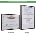 Picture Frame Metal Poster Frame Classic Aluminum Photo Frames For Wall Hanging A3 A4 30x30 Certificate Frame VCC preview-2