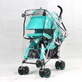Stroller Accessories Waterproof Rain Cover Transparent Wind Dust Shield Zipper Open Raincoat For Baby Strollers Pushchairs Rainc preview-3