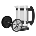 French Press Coffee/Tea Brewer Coffee Pot Coffee Maker Kettle 1000ML Stainless Steel Glass Thermos For Coffee Drinkware preview-3