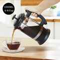 French Press Coffee/Tea Brewer Coffee Pot Coffee Maker Kettle 1000ML Stainless Steel Glass Thermos For Coffee Drinkware preview-2