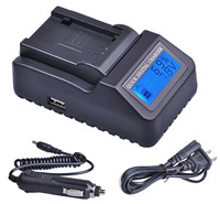 1x LCD Quick Charger