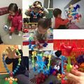 16-48pcs/set Pop Little Suckers Assembled Sucker Suction Cup Educational Building Block Toy Girl&Boy Kids Gifts Fun Game preview-6
