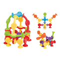 16-48pcs/set Pop Little Suckers Assembled Sucker Suction Cup Educational Building Block Toy Girl&Boy Kids Gifts Fun Game preview-5