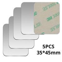 5pcs Silver 35x45mm