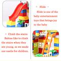 Classic Big Size Building Blocks House Roof Big Particle Assembly Construction Block Plastic Castle DIY Bricks Toys For Children preview-6