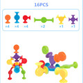 16-48pcs/set Pop Little Suckers Assembled Sucker Suction Cup Educational Building Block Toy Girl&Boy Kids Gifts Fun Game preview-7