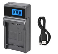 1x LCD USB Charger