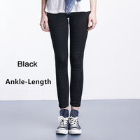 Black  Ankle-Length