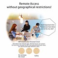 SSK Portable Wireless External Hard Drive  Smart Hard Disk 1TB Cloud Storage WiFi Remote Access HDD Case for Tablet Laptop USB preview-6