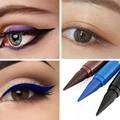 1pc Waterproof Eyeliner Black/Blue/Brown Matte Longlasting Eye Makeup Quick Drying Smudge-proof Eyeliner Pencil wholesale preview-2