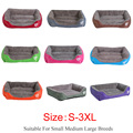 S-3XL 9 Colors Paw Pet Sofa Dog Beds Waterproof Bottom Soft Fleece Warm Cat Bed House Petshop cama perro preview-3