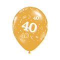 10pcs gold 40