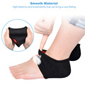 Sunvo Heel Cushion Socks for for Men Women Plantar Fasciitis Achilles Tendonitis Calluses Spurs Cracked Pain Relief Inserts Pads preview-3