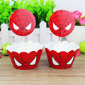Superhero Spiderman Birthday Party Supplies Tablecloth Balloons Favors Kids SpiderMan Theme Birthday Party Decorations Boy Set preview-4