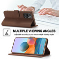 Phone Case For Redmi Note 10 Pro Case Leather Vintage Wallet Case On Xiaomi Redmi Note 10 5G Case Flip Cover On Redmi Note10 10s preview-3