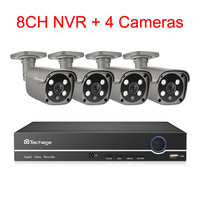 8CH NVR and 4 Camera