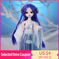 Dream Fairy 1/6 Dolls Court Style 28CM BJD Ball Jointed Doll Full Set Including Clothes Shoes DIY Toy Gift for Girls preview-2
