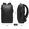 New Men Anti theft Waterproof Laptop Backpack 15.6 Inch Daily Work Business Backpack School back pack mochila for women preview-2