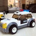 City Patrol Police Motorcycle Car Pursuit Prisoners Model Building Blocks Enlighten Action Figure Toys For Children preview-5