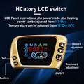 Hcalory All In One Diesel Air Car Heater Host 8KW Adjustable 12V LCD English Remote Control Integrated Parking Heater Machine preview-3