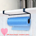 Kitchen Tissue Holder Hanging Bathroom Toilet Paper Towel Holder Rack Kitchen Roll Paper Holder Toilet Paper Stand Towel preview-1