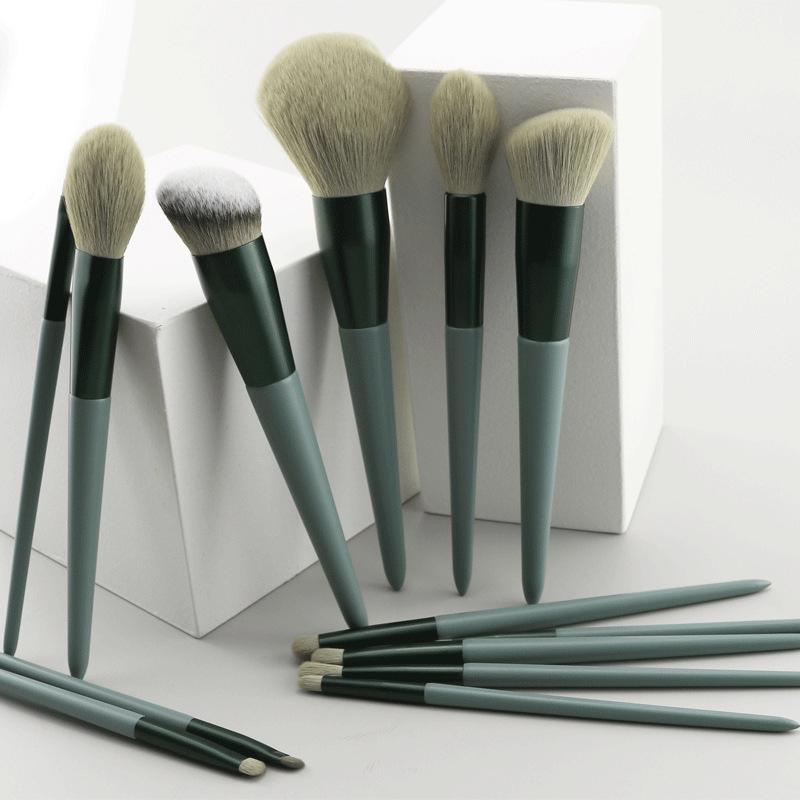 Makeup Brushes 13pcs Foundation Powder Blush Eyeshadow Concealer Lip Eye Make Up Brush With Bag Cosmetics Beauty Tool