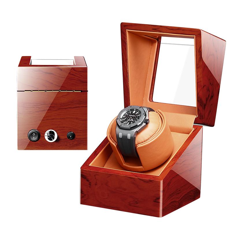 High Class Motor Shaker Watch Winder Holder Display Automatic Mechanical Watch Winding Box Jewelry Watches Box