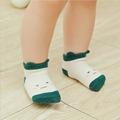 Newborn baby winter anti slip socks toddler boys girls children kids cotton warm cute animal fox sock infant short Cartoon socks preview-2