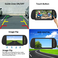 AHD 1080P Truck Reverse Reversing Camera & 7 Inch AHD RearView Monitor Backup Wired Kit for Truck Box RV and Heavy Duty Vehicles preview-2