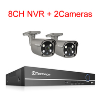8CH NVR and 2 Camera
