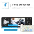 New4.1 Inch HD Large Screen Hands-free Car MP5 Player Card U Disk Radio Reversing Audio Player Radio Station With Remote Control preview-5