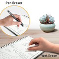 NEWYES A6 size Smart Reusable Erasable Notebook Microwave Wave Cloud Erase Notepad Note Pad Lined With Pen save paper preview-4