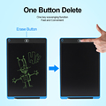 Graphic Tablet Drawing Tablet 8.5 12 Inch lcd Writing Tablet LED Light Drawing Pad Digital Board Electronic Smart Notebook preview-3