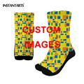 FORUDESIGNS New Women Socks Multicolor pattern Print on demand Breathable Sweat Non-slip  Outdoor Sport Hikking Running Socks preview-3