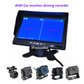 7 inch IPS 2 split screen 1024*600 AHD Car Monitor Driving recorder DVR, Cameras optional preview-1