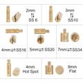 Hot Sale 2000pcs-9600Pcs/Box DMC Hot Fix Rhinestone Hotfix Applicator with 7 Tips Crystal Glass Rhinestone Iron-on Wand Strass preview-5