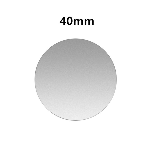 1PCS Silver 40x40