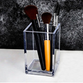 Transparent Makeup Brush Holder Organizer Plastic Pen Holder Desk Table Cosmetic Storage Box Acrylic Jewelry Box Container preview-4