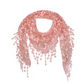 Women Lace Sheer Floral Knit Veil Scarf Hollow Out Crochet Shawl Wraps Tassels Scarves Party Evening Wrap Scarf Ladies New preview-1
