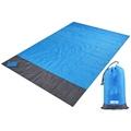 2x2.1m Waterproof Pocket Beach Blanket Folding Camping Mat Mattress Portable Lightweight Mat Outdoor Picnic Mat Sand Beach Mat preview-1