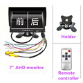 7 inch IPS 2 split screen 1024*600 AHD Car Monitor Driving recorder DVR, Cameras optional preview-6