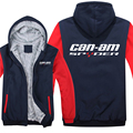 Winter Can Am Spyder Motorcycles Hoodies Men Fashion Coat Pullover Wool Liner Jacket Can Am Spyder Sweatshirts Hoody preview-5