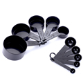 10pcs 7 Color Measuring Cups And Measuring Spoon Scoop Silicone Handle Kitchen Measuring Tool FreeShipping preview-2