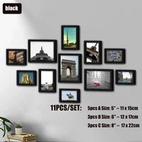 11pcs Black