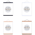 wood hanging scrolls painting magnetic core hanging clip,Solid Frame Hanger for poster photo picture Simple Nordic style preview-3
