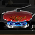 316/304 Stainless Steel Frying Pan High Quality Pan Fried Steak Non Stick Pan General Purpose Induction Cooker Honeycomb Wok preview-3
